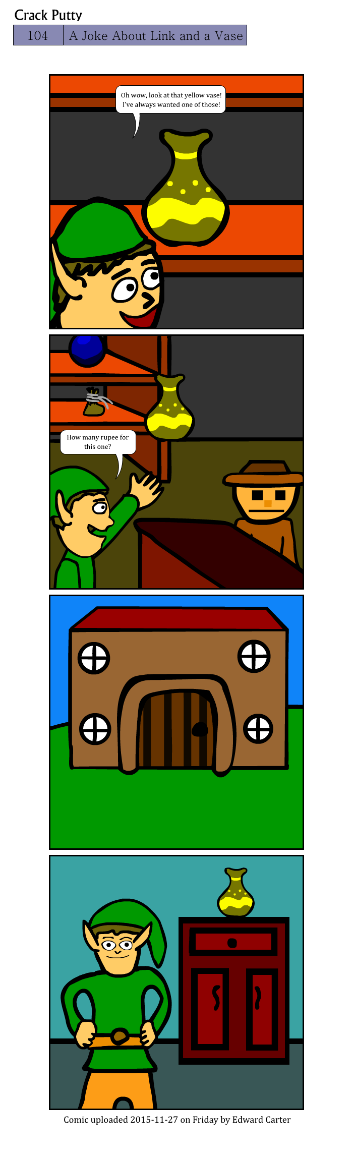 A Joke About Link and a Vase